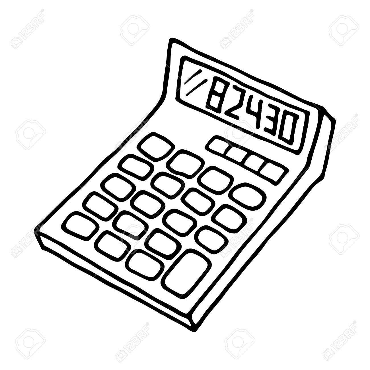 Calculator images clipart banner library Calculator Clipart Black And White | Free download best Calculator ... banner library