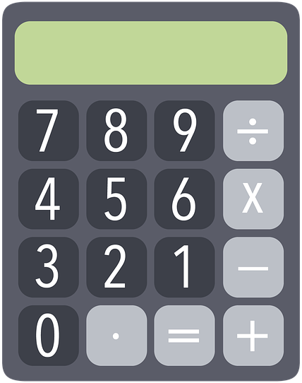 Calculator clipart images png freeuse library Calculator PNG Clipart | PNG Mart png freeuse library