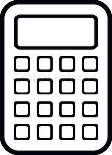 Calculator icon clipart svg transparent download Calculator Icon Black And White #21066 - Free Icons Library svg transparent download