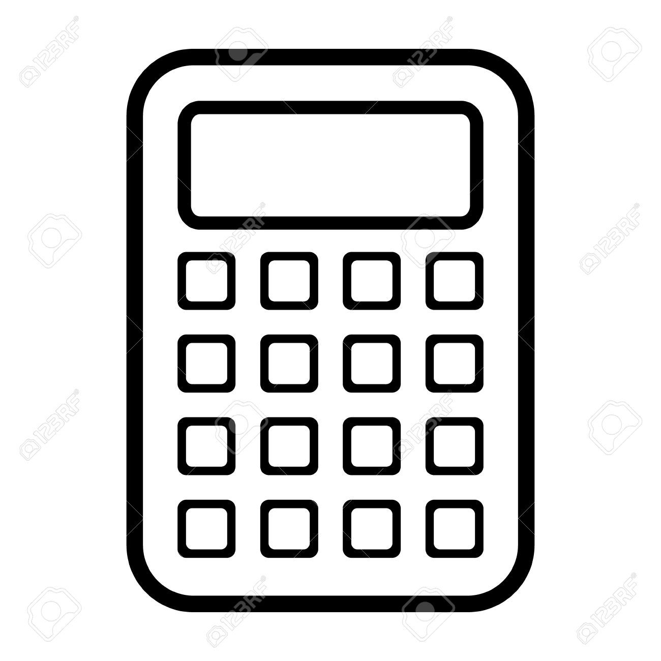 Calculator icon clipart png freeuse library Calculator icon » Clipart Portal png freeuse library
