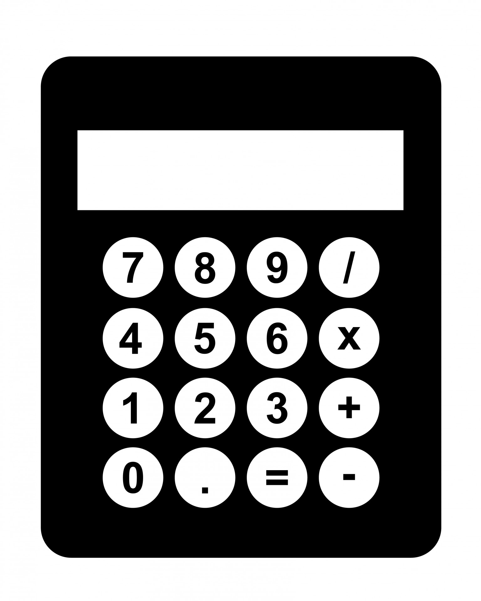 Calculator images clipart vector transparent library calculator-black-clipart – 501(c) Services vector transparent library
