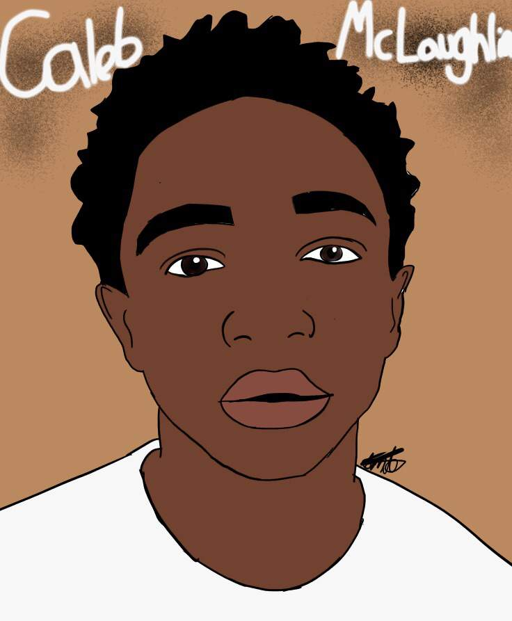 Caleb mclaughlin clipart clip art library download Caleb McLaughlin - Art | Stranger Things Amino clip art library download