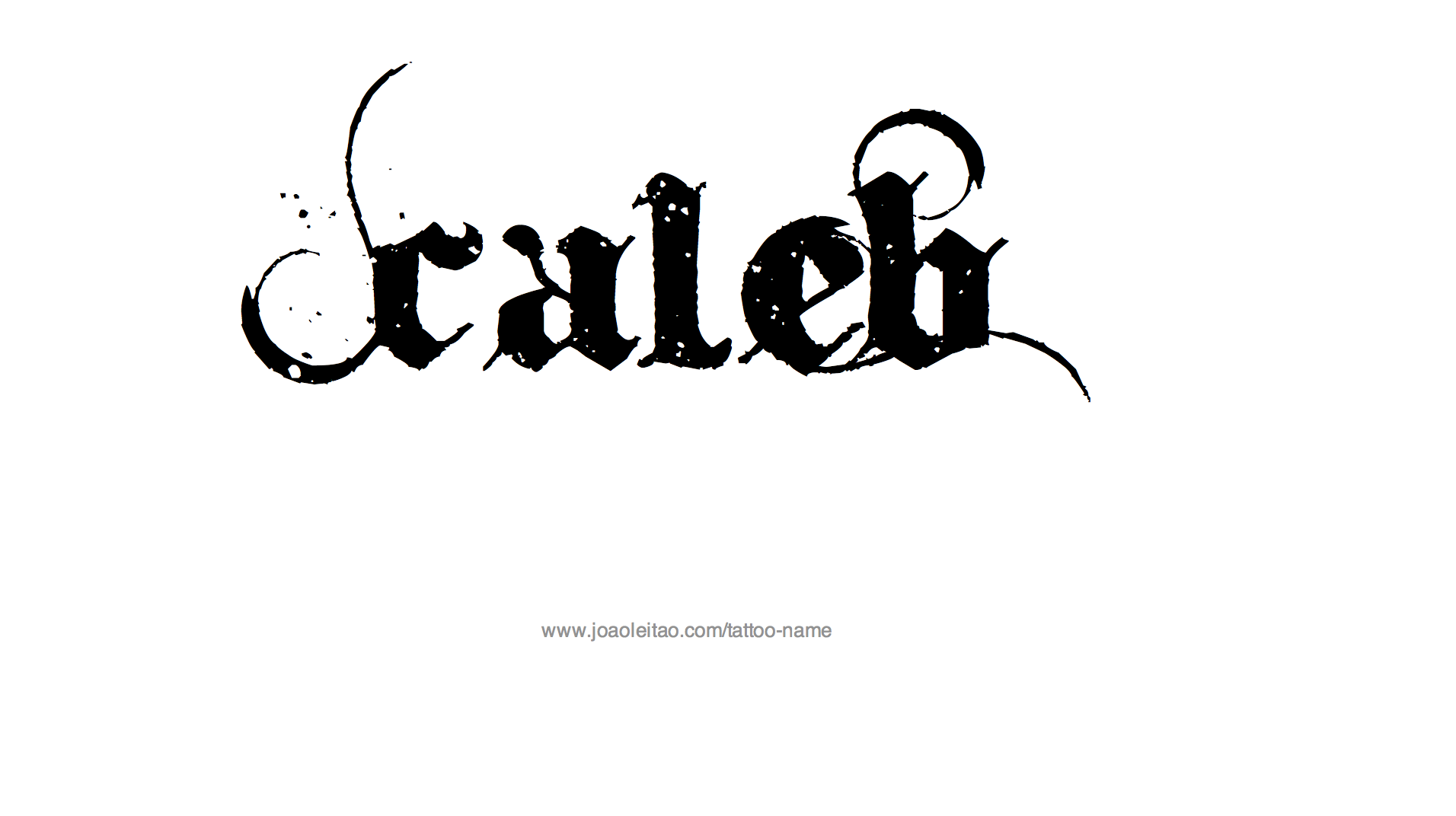 Caleb name clipart jpg library download Caleb Name Tattoo Designs | I\'d like to try that... | Name tattoos ... jpg library download