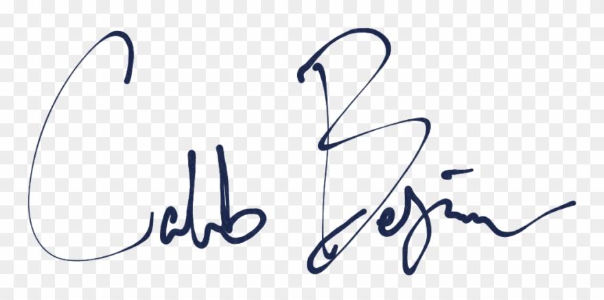 Caleb name clipart clipart transparent Caleb-signature - Caleb Signature Clipart (#3221777) - PinClipart clipart transparent
