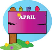 Calendar april clipart picture freeuse library April Calendar Clip Art - ClipArt Best picture freeuse library