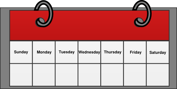 Calendar clip art free vector free stock Calendar Clipart | Clipart Panda - Free Clipart Images vector free stock