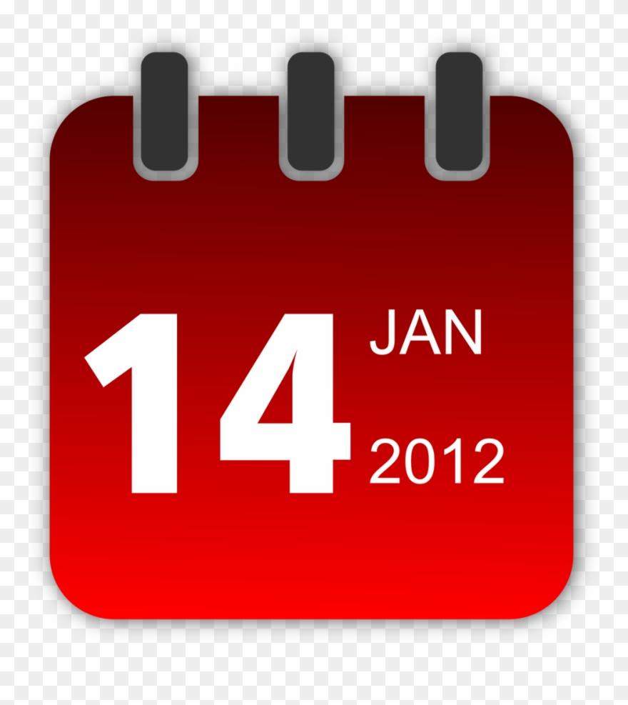 Calendar clipart 2012