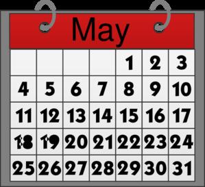 Calendar clipart 2012 clip art free May Calendar Clip Art at Clker.com - vector clip art online, royalty ... clip art free