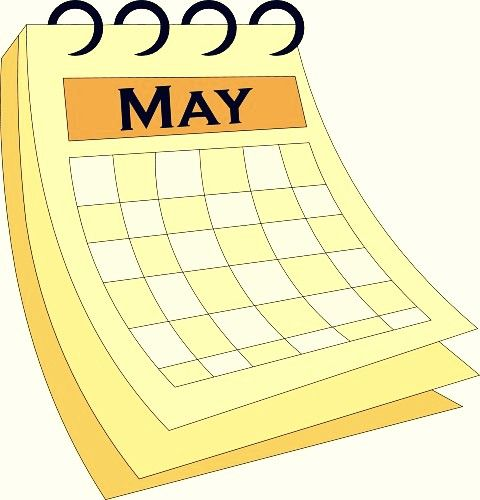 Calendar clipart png transparent download May calendar clipart template | 2018 Calendars | Calendar, Parents ... png transparent download