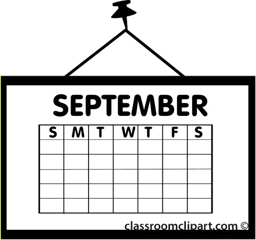 Calendar clipart august picture royalty free library August calendar clipart wallpapers - Clipartix picture royalty free library