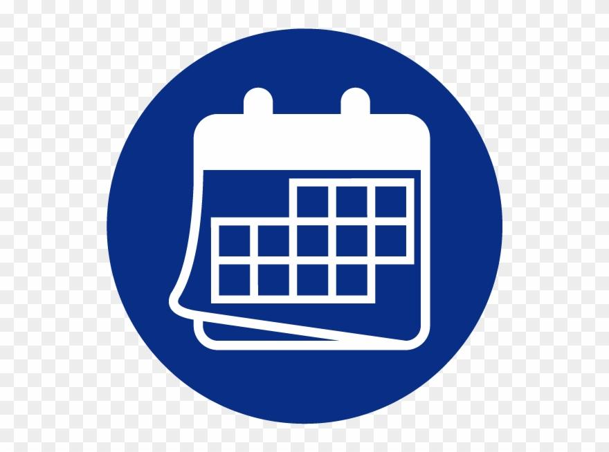 Calendar clipart blue jpg royalty free Download Calendar Png Clipart - Calendar Icon Png Blue Transparent ... jpg royalty free