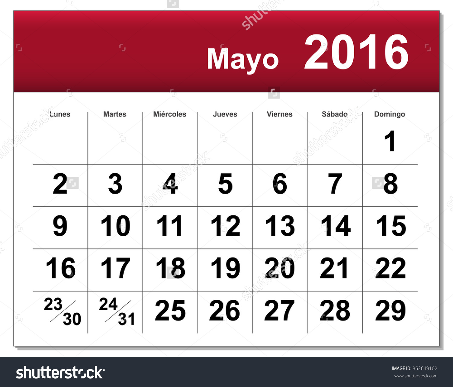Calendar clipart bw may 2016 clip art freeuse download May 2016 calendar clipart - ClipartFox clip art freeuse download