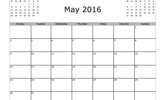 Calendar clipart bw may 2016 download Calendar clipart bw may 2016 - ClipartFest download