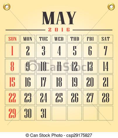 Calendar clipart bw may 2016 image free May 2016 calendar clipart - ClipartFox image free