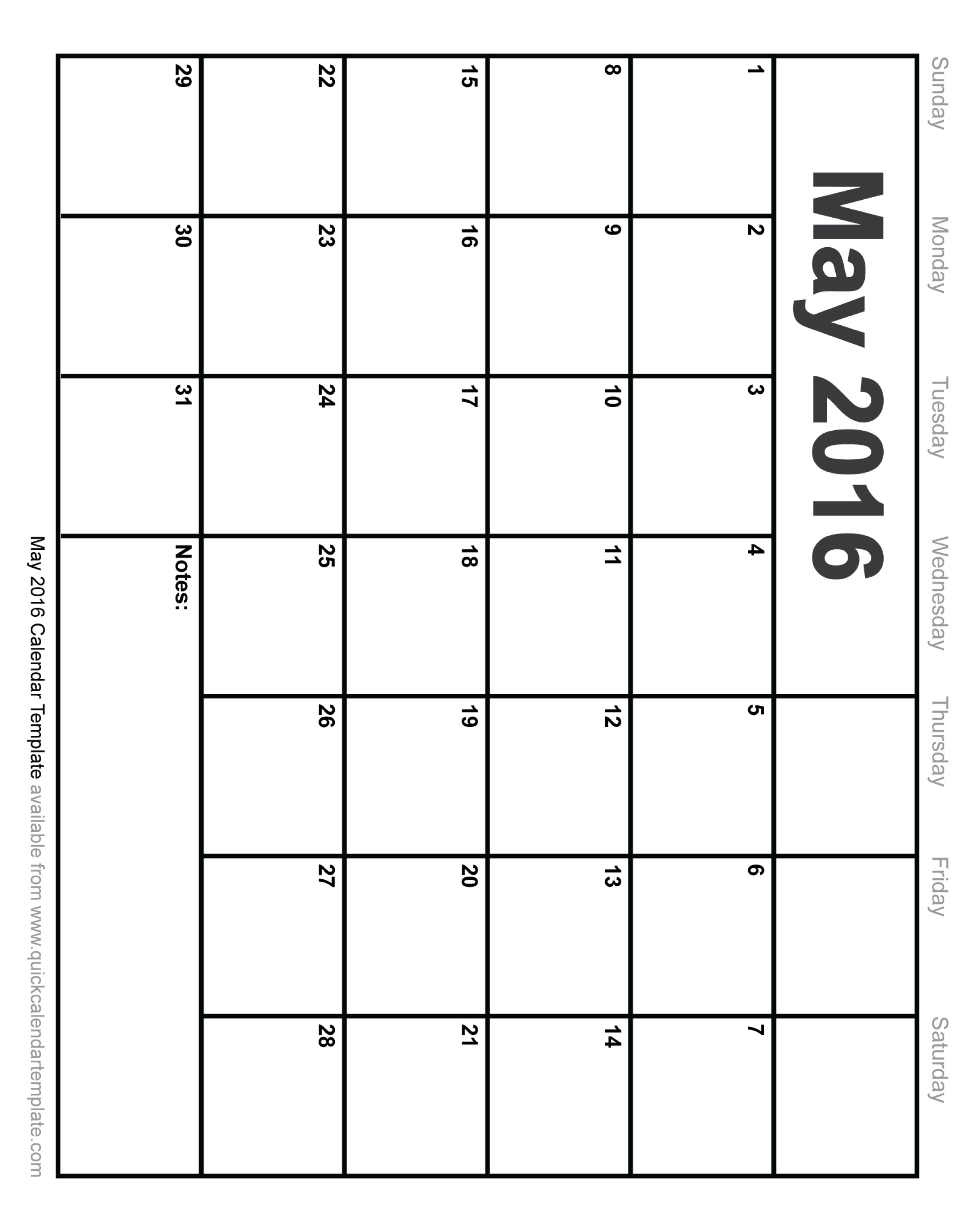 Calendar clipart bw may 2016 clipart freeuse stock Calendar clipart bw may 2016 - ClipartFest clipart freeuse stock