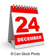 Calendar clipart december 24 png free stock 24 december Clipart and Stock Illustrations. 92 24 december vector ... png free stock