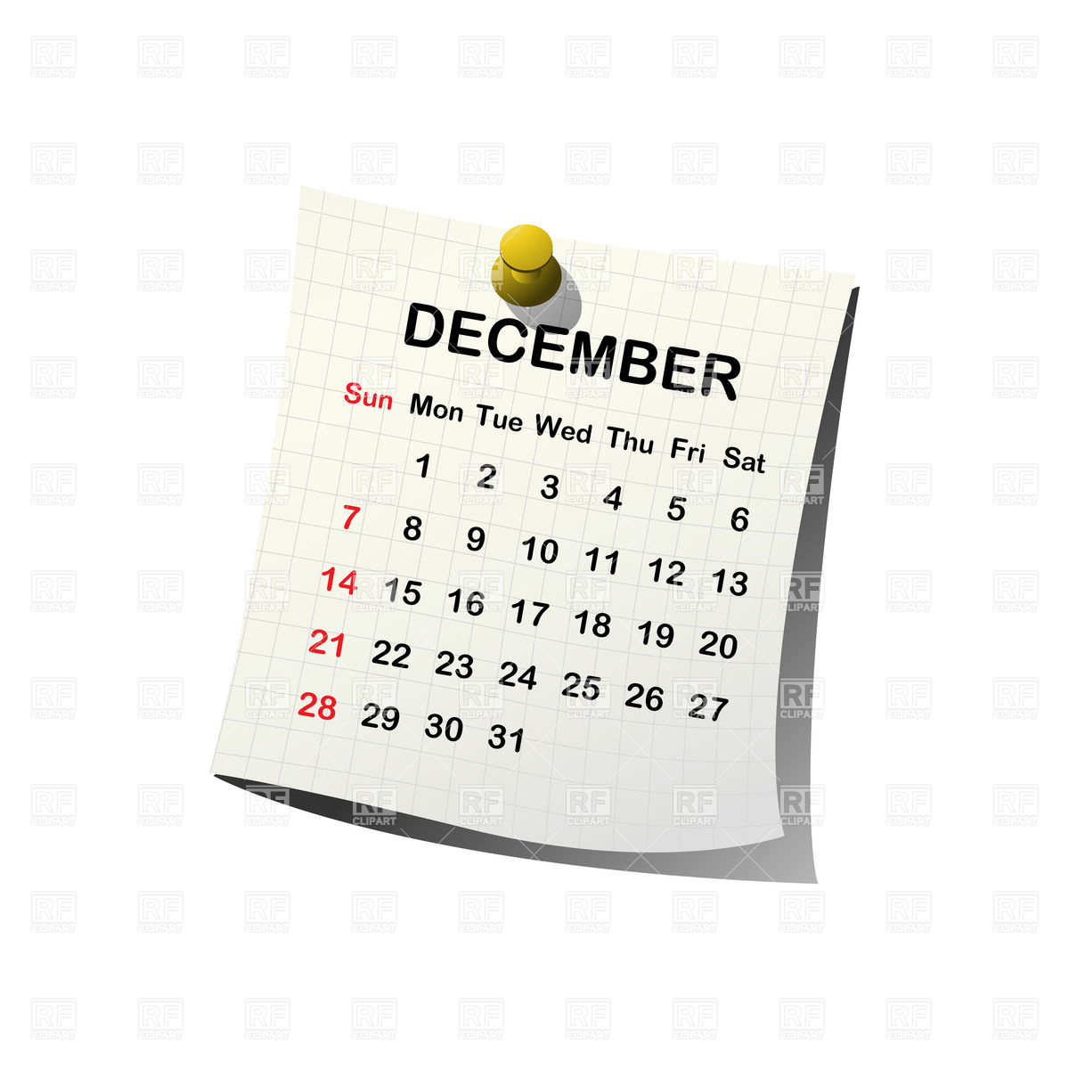 Calendar clipart december 24 banner free library 2016 calendar clipart free december - ClipartFest banner free library