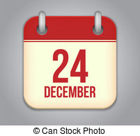 Calendar clipart december 24 picture 24 december Clipart and Stock Illustrations. 92 24 december vector ... picture