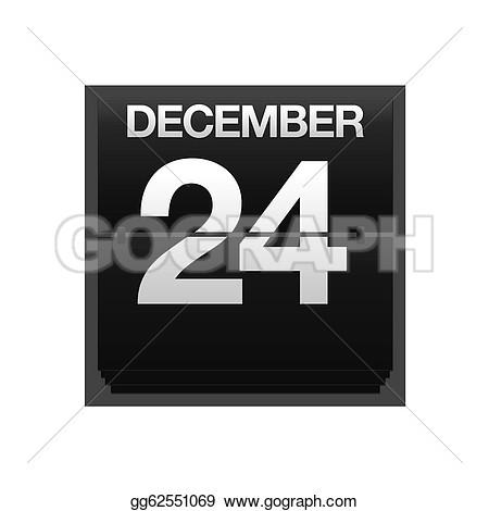 Calendar clipart december 24 svg black and white library Calendar clipart december 24 - ClipartFest svg black and white library