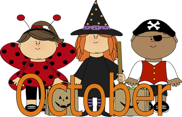 Calendar clipart for october banner Free clipart for october calendar - ClipartFest banner