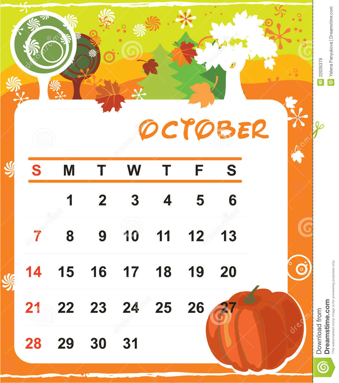 Calendar clipart for october banner library stock October 1938 calendar clipart - ClipartFest banner library stock