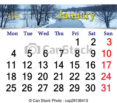Calendar clipart january jpg transparent Calendar clipart january - ClipartFox jpg transparent
