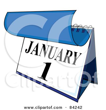 Calendar clipart january vector royalty free download Royalty Free Desk Calendar Illustrations by Pams Clipart Page 1 vector royalty free download