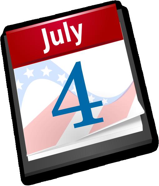 Calendar clipart july banner July Calendar Clipart - Clipart Kid banner