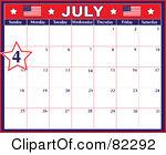 Calendar clipart july jpg royalty free stock Royalty-Free (RF) July Calendar Clipart, Illustrations, Vector ... jpg royalty free stock