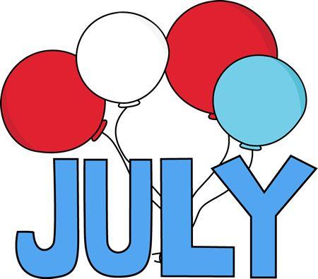 Calendar clipart july vector royalty free download July calendar clipart - ClipartFest vector royalty free download