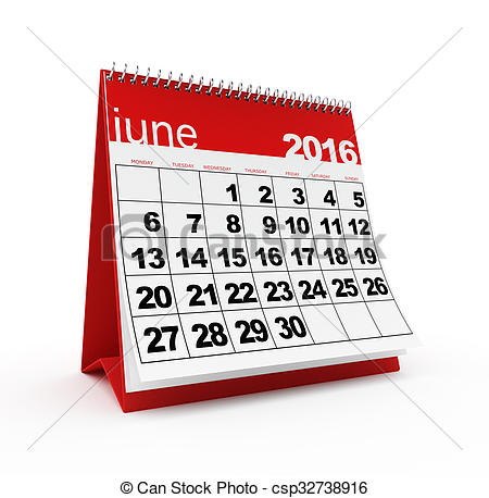 Calendar clipart june 11 2016 clip free download Clipart of June 2016 calendar - June 2016 monthly calendar on ... clip free download
