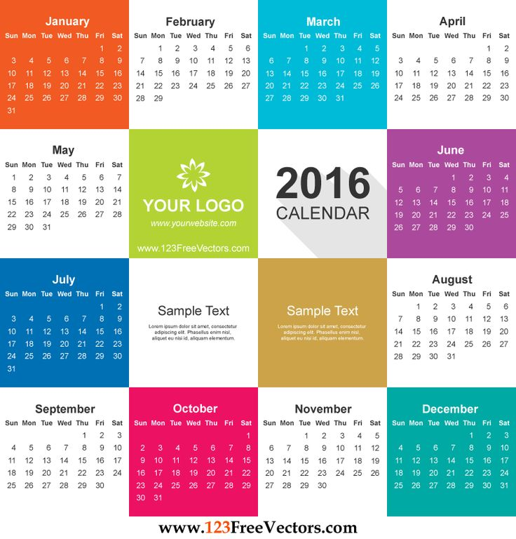 Calendar clipart june 11 2016 banner freeuse 17 Best images about 2016 Calendar Template on Pinterest ... banner freeuse