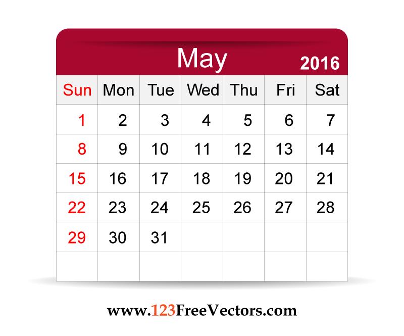 Calendar clipart may 2016 free download Calendar clipart may 2016 - ClipartFest free download