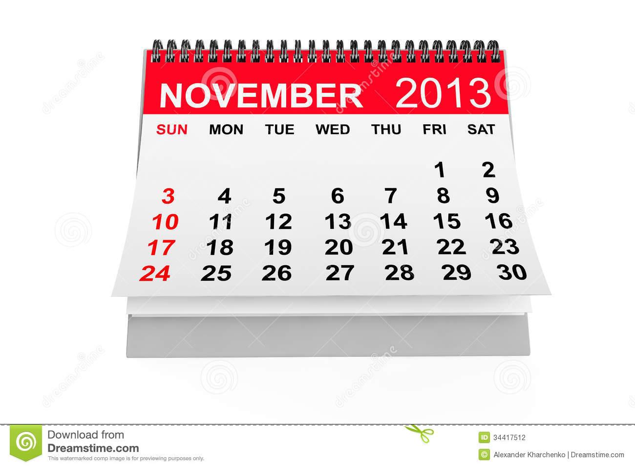 Calendar clipart november clip art download November clipart calendar - ClipartFest clip art download