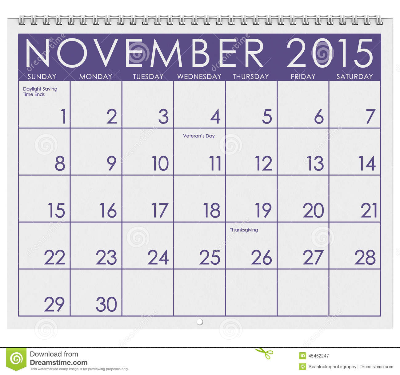Calendar clipart november 2015 picture freeuse library Calendar clipart november 2015 - ClipartFest picture freeuse library