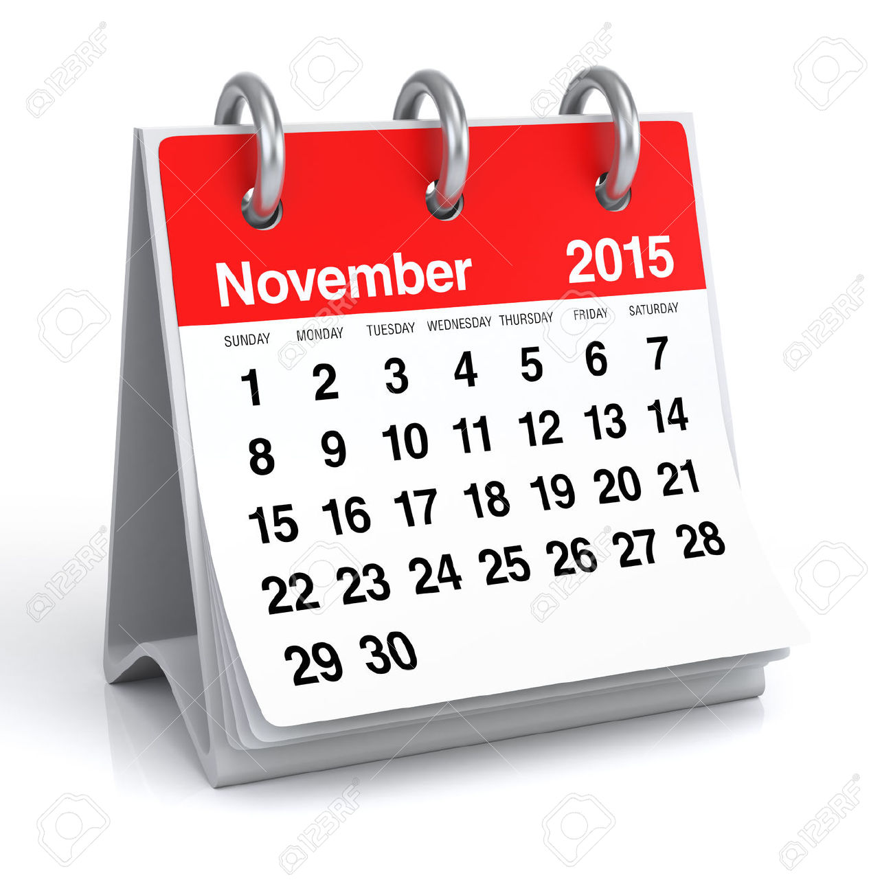 Calendar clipart november 2015 image stock November 2015 - Calendar Stock Photo, Picture And Royalty Free ... image stock