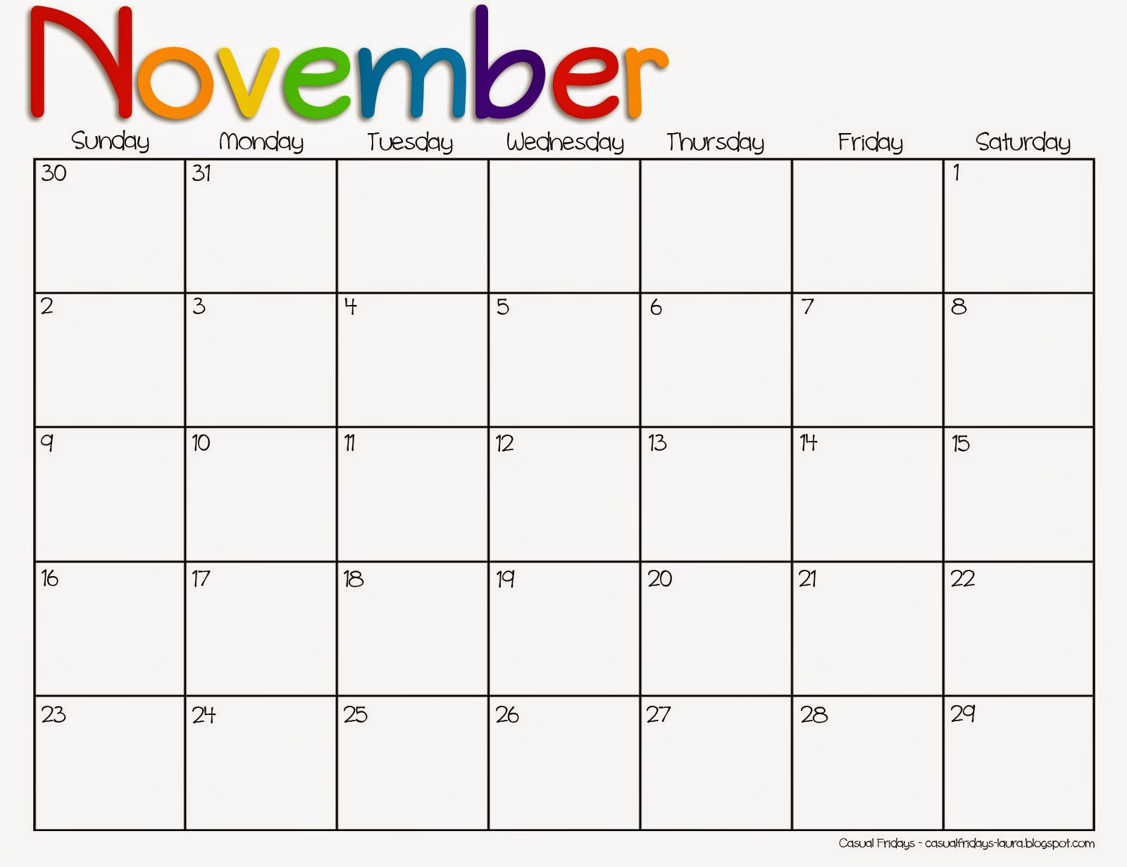 Calendar clipart november 2016. Preschool clipartfest
