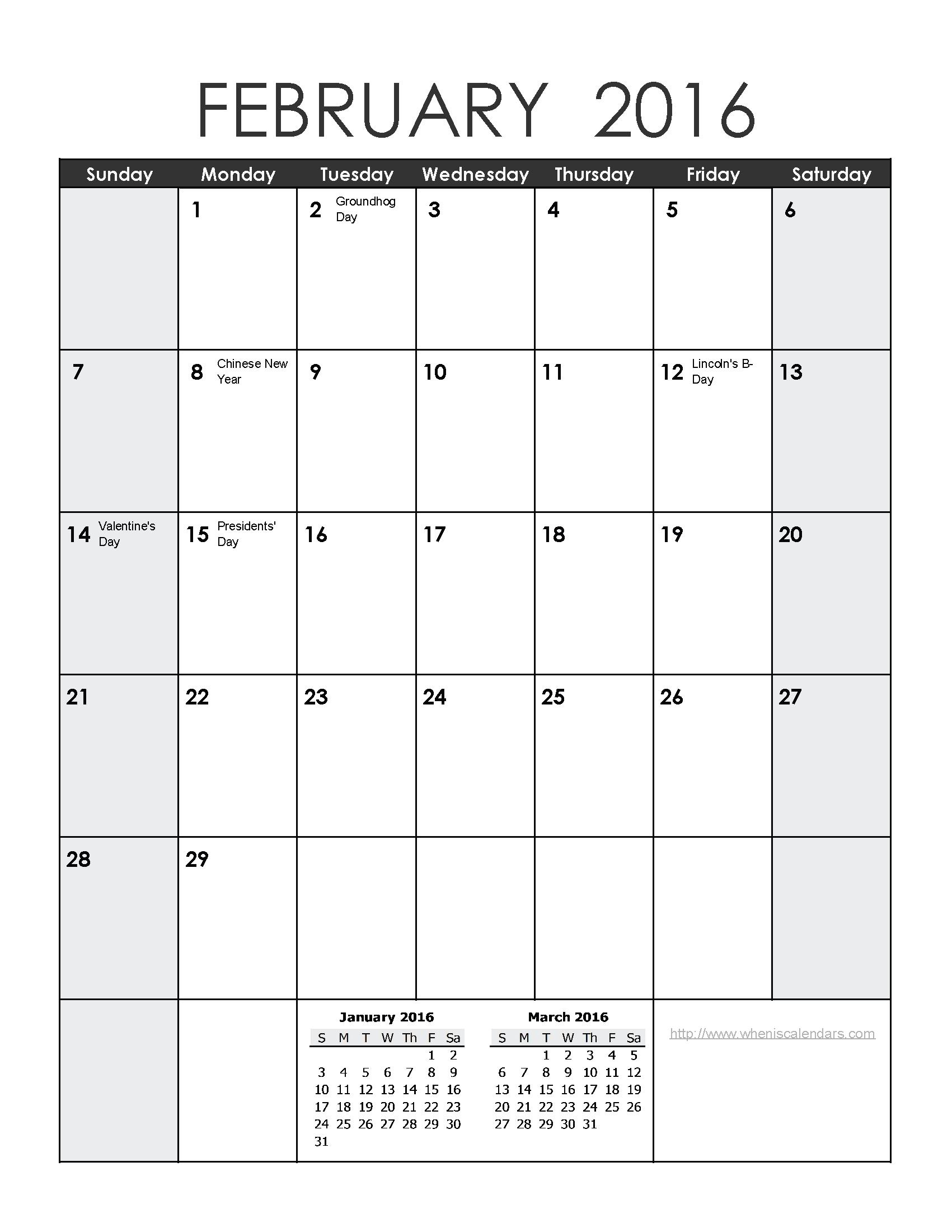 Calendar clipart november 2016 svg library library February 2016 calendar clipart - ClipartFest svg library library