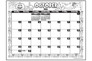 Calendar clipart october 2016 clip transparent library October 1938 calendar clipart - ClipartFest clip transparent library