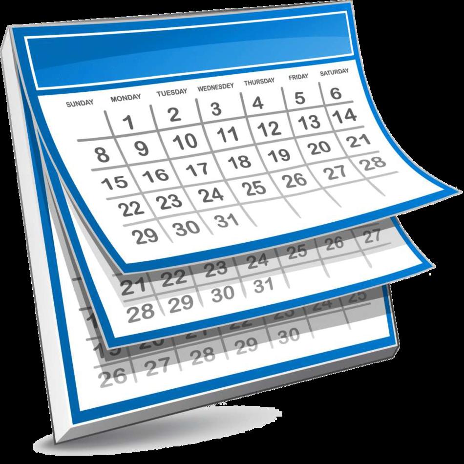 Calendar clipart png transparent vector library Calendar clipart png transparent - ClipartFest vector library