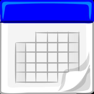 Calendar clipart png transparent picture transparent download Blue Calendar Clip Art at Clker.com - vector clip art online ... picture transparent download