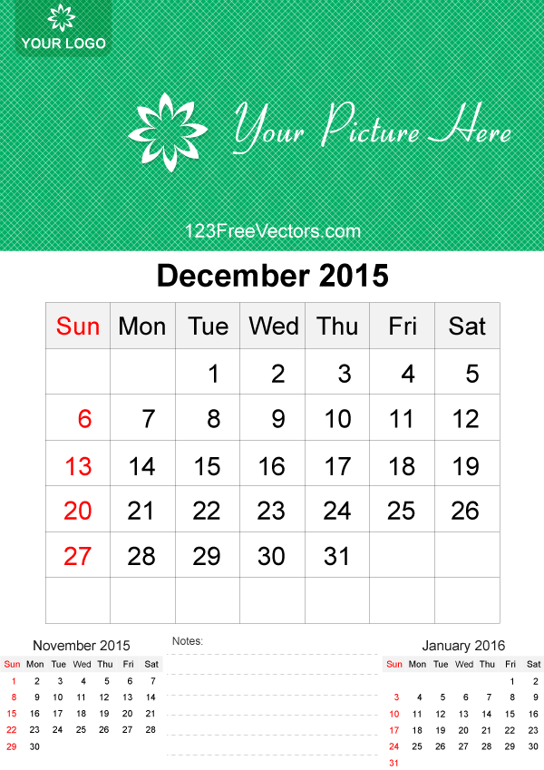 Calendar december 3 clipart banner black and white Clipart of a december 2015 calendar - ClipartFest banner black and white