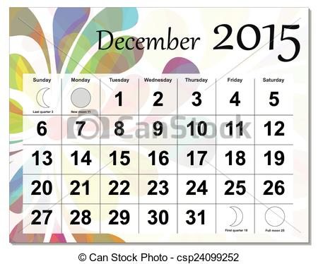 Calendar december 3 clipart clipart free download December 2015 calendar clipart - ClipartFest clipart free download