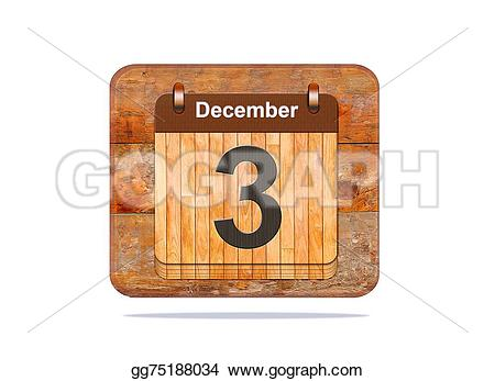 Calendar december 3 clipart banner royalty free stock Stock Illustrations - December 3. Stock Clipart gg75188034 - GoGraph banner royalty free stock