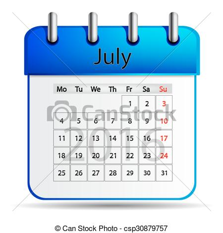 Calendar july 2016 clipart vector black and white download July 2016 Stock Illustrations. 2,725 July 2016 clip art images and ... vector black and white download