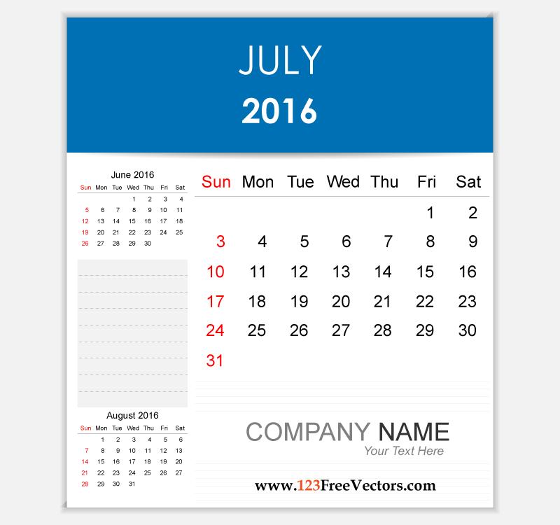 Calendar july 2016 clipart png transparent download Calendar july 2016 clipart - ClipartFest png transparent download