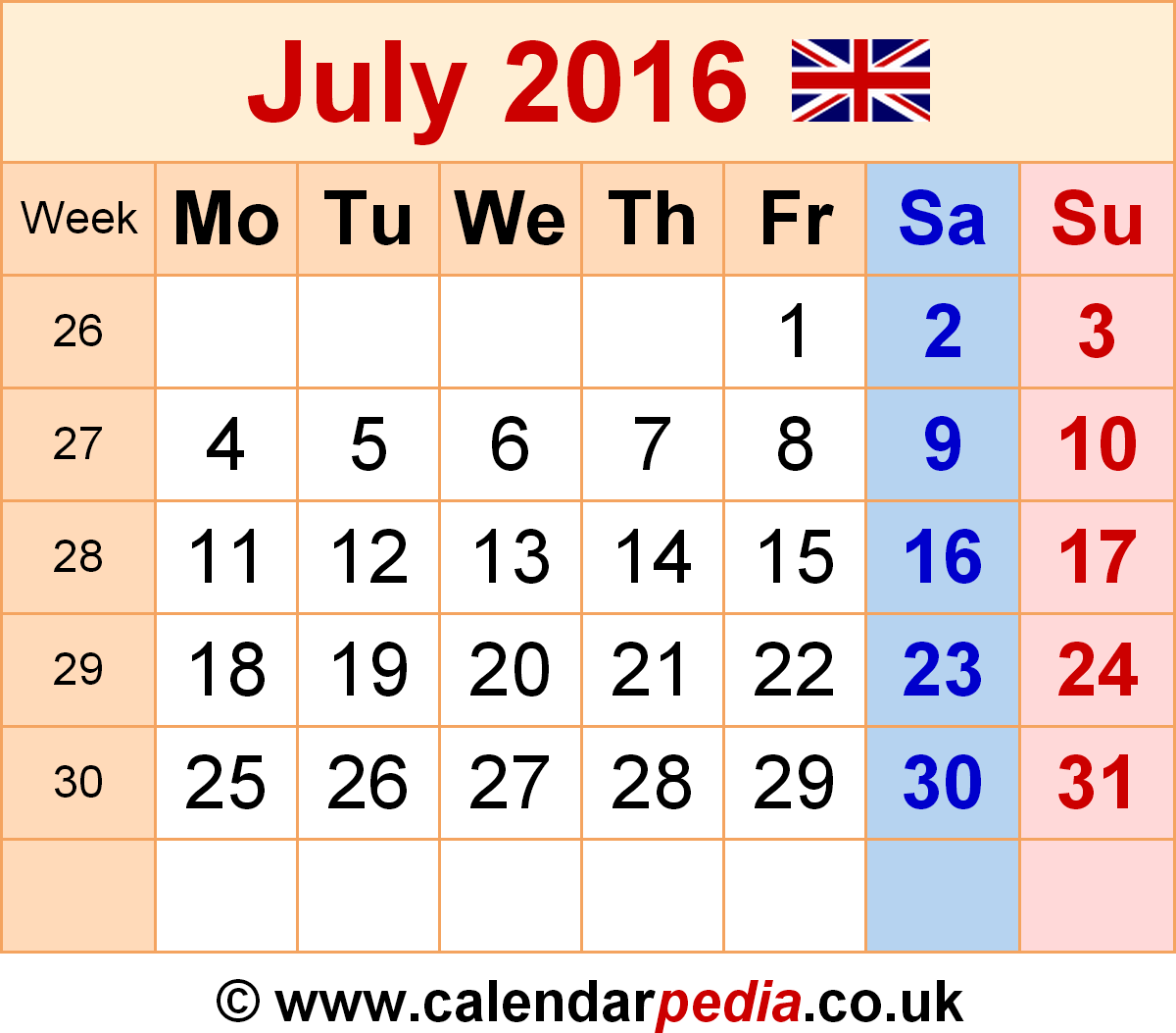 Calendar july 2016 clipart jpg black and white stock July 2016 calendar sporty clipart - ClipartFest jpg black and white stock
