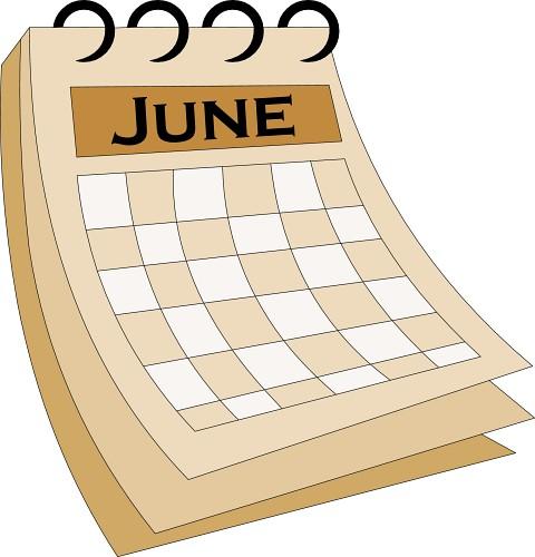 Clipartfest download . Calendar june clipart