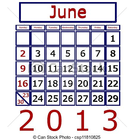 Graphics kid icons logo. Calendar june clipart