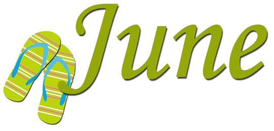 Calendar june clipart. Months clipartfest month of